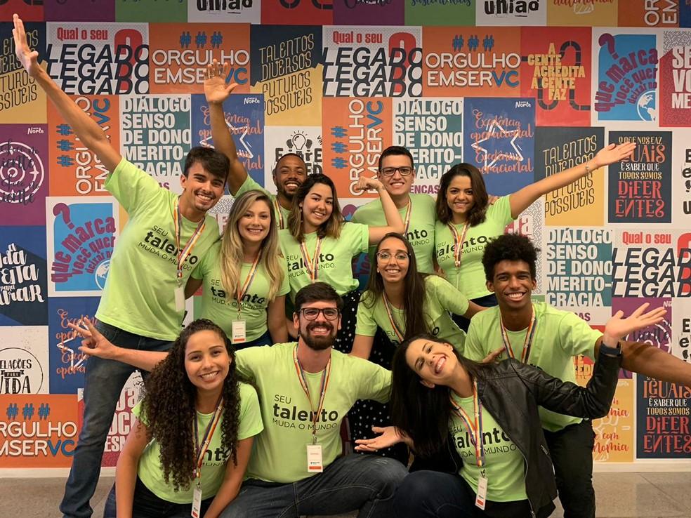 Trainees da turma deste ano da Votorantim — Foto: Divulgação
