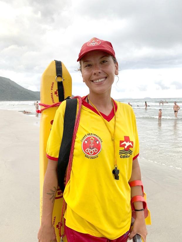 A salva-vidas, Lais Martins (Foto: Marie Claire)