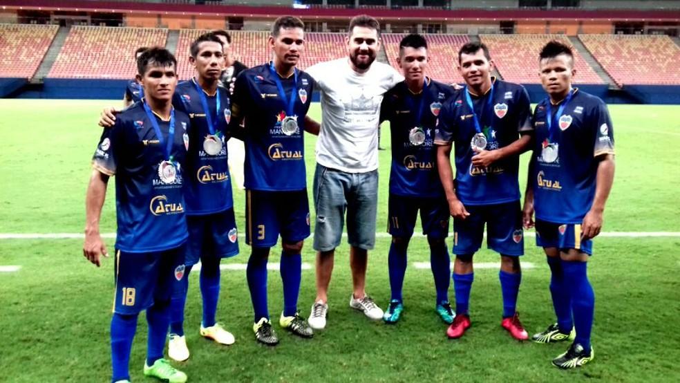 CDC conta com apoio da prefeitura e montou um time mais caseiro (Foto: Divulgação)