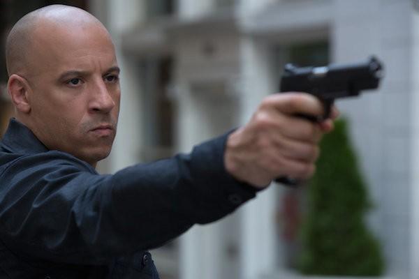 O ator Vin Diesel em Velozes e Furiosos 8' (Foto: Divulgação)