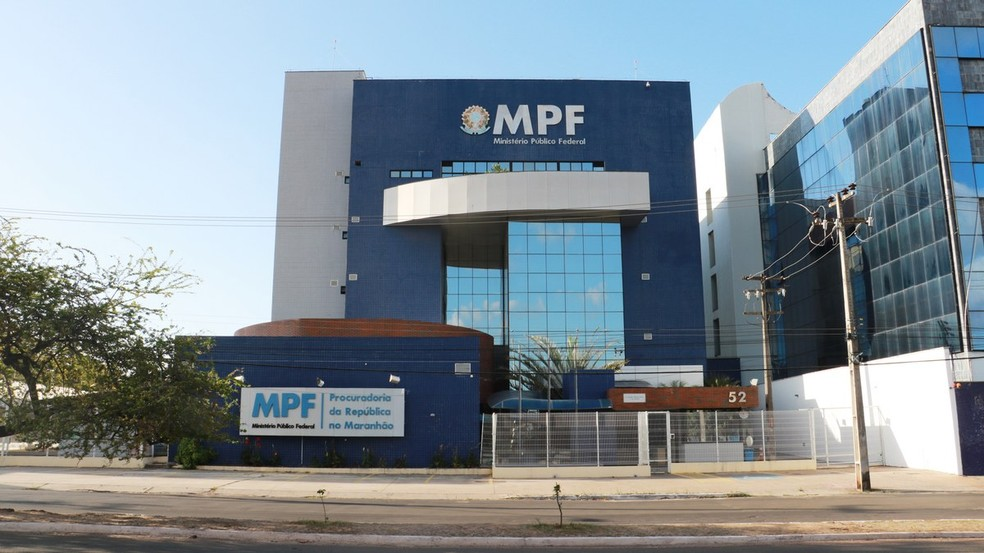 Sede do Ministério Público Federal no Maranhão (MPF-MA) em São Luís — Foto: Divulgação/MPF-MA
