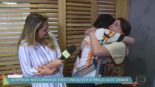 'Vídeo Show' prepara surpresa para Nívea Maria e Glauce Graieb
