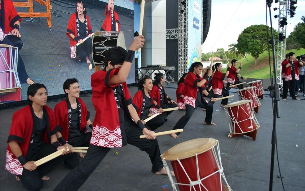-  2ª Semana do Japão em Santarém terá programação especial  Foto: Yuri Marcel/G1