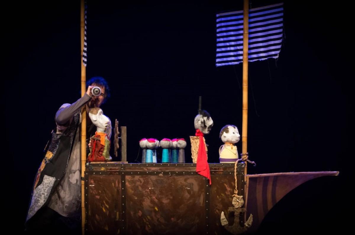 Teatro de sombras e de bonecos para crianças são atrações de Guararema neste domingo - G1