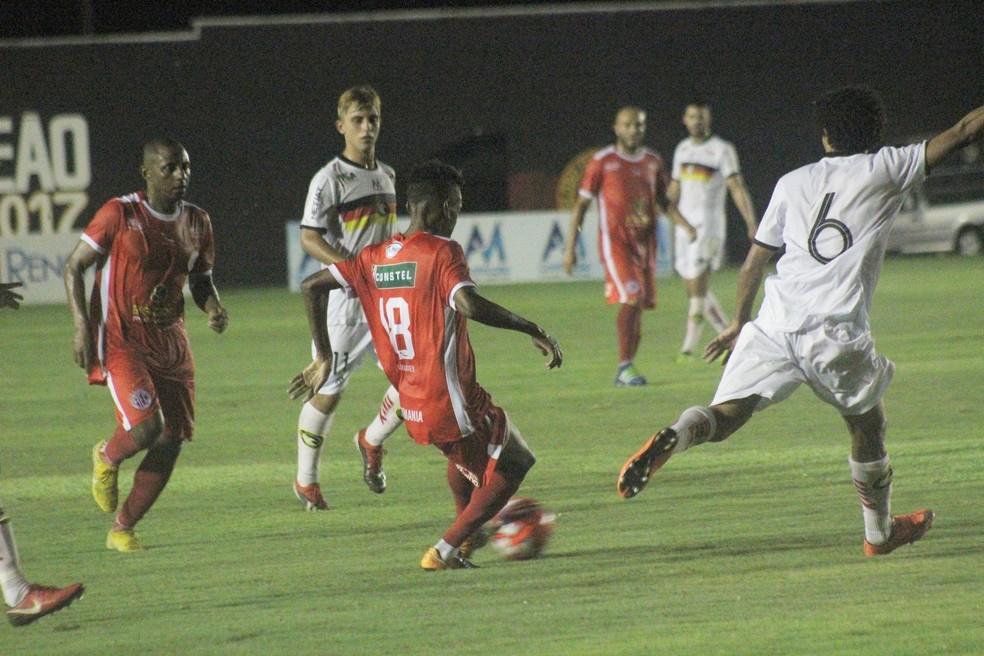 Globo FC supera América-RN no Barretão e assume liderança do segundo turno — Foto: Canindé Pereira/América FC