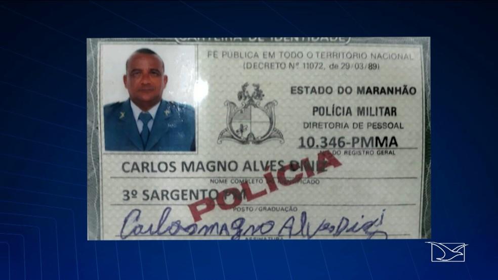 Sargento foi autuado pela Superintendência Estadual de Repressão ao Narcotráfico em São Luís (Foto: Reprodução/TV Mirante)