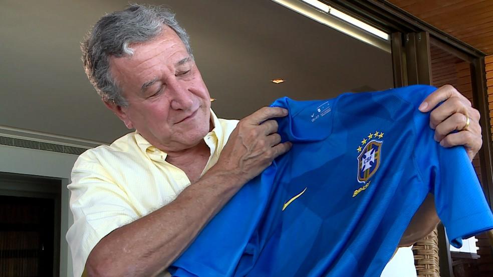 Parreira, técnico campeão do mundo com a Seleção em 1994, será um dos palestrantes da Brasil Futebol Expo — Foto: Fabio Índio