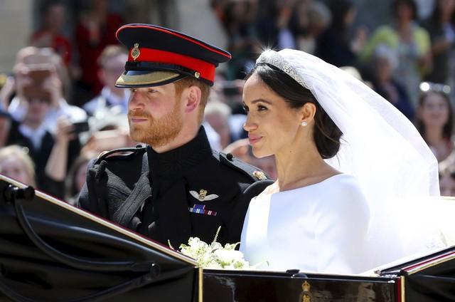 Casamento de Harry e Meghan Markle (Foto: AP)