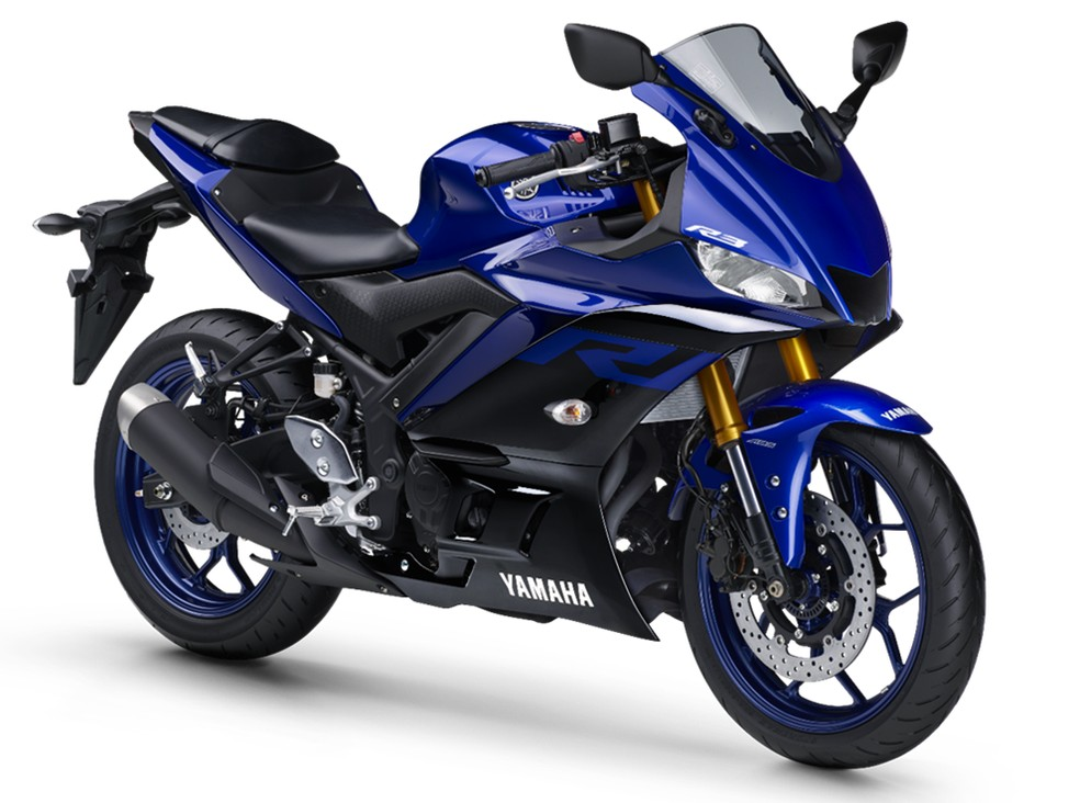 Yamaha YZF-R3 2020 — Foto: Yamaha/Divulgação