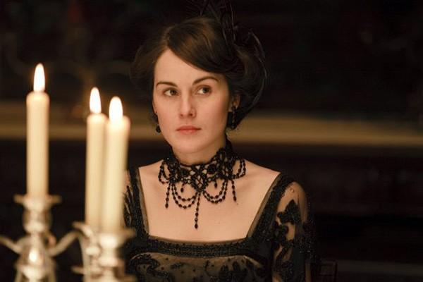 Michelle Dockery em cena como Lady Mary na série 'Downton Abbey' (Foto: Divulgação)