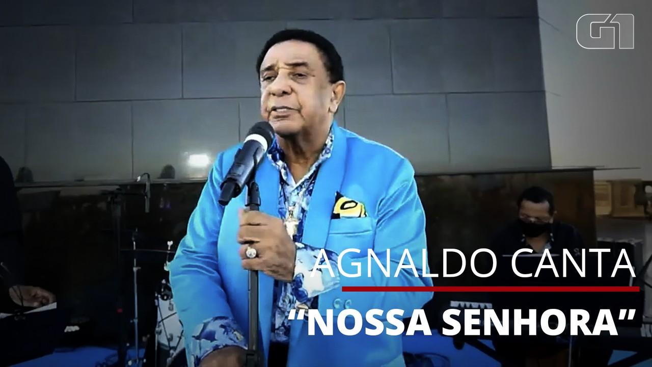 Agnaldo Timóteo canta 'Nossa Senhora' em última apresentação pública