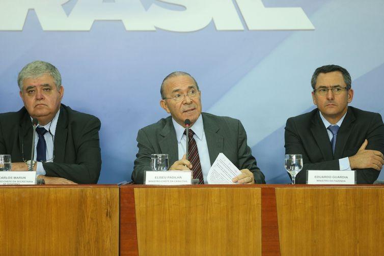 ministros-governo-planalto (Foto: Agência Brasil)