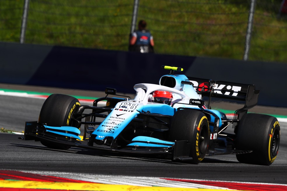 Robert Kubica chegou em último lugar no GP da Áustria — Foto: Getty Images