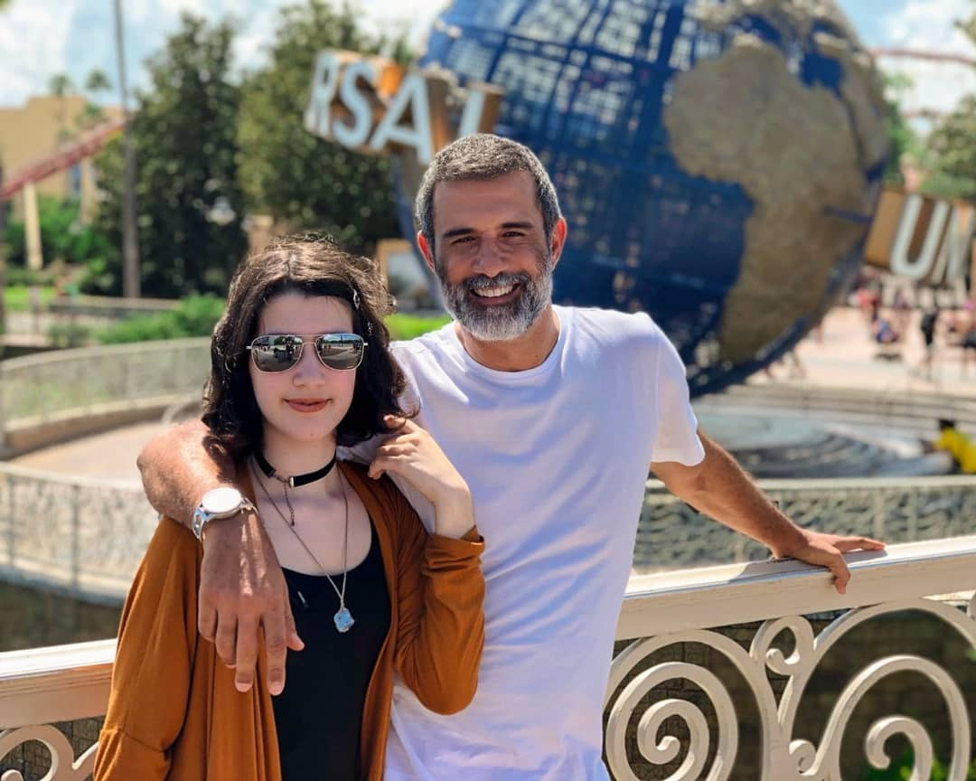 Marcos Pasquim e Alice (Foto: reprodução/Instagram)