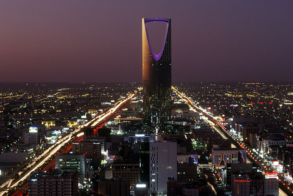 Paisagem de Riyadh, capital da Arábia Saudita (Foto: Getty Images)