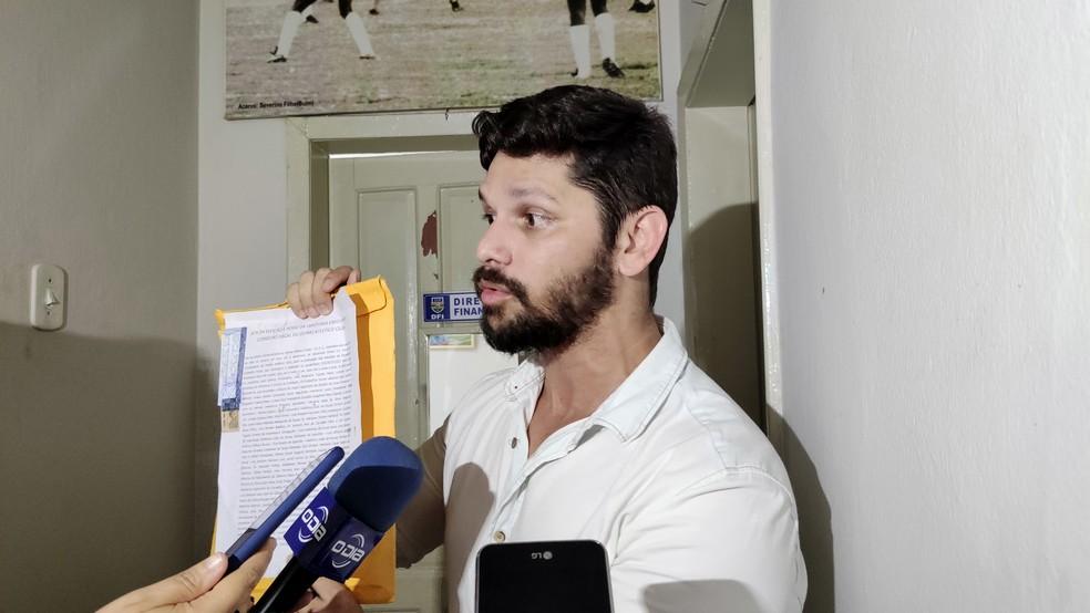 Alex Amorim, diretor Oeiras — Foto: Stephanie Pacheco/GloboEsporte.com