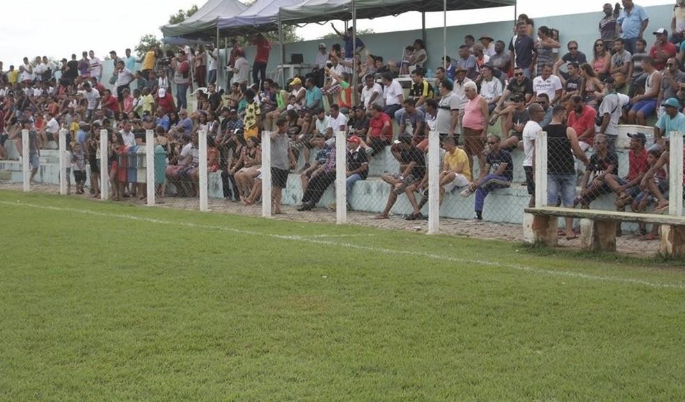 Estádio Leyvalmir, Lavandeira — Foto: Ascom Prefeitura de Lavandeira/ Divulgação