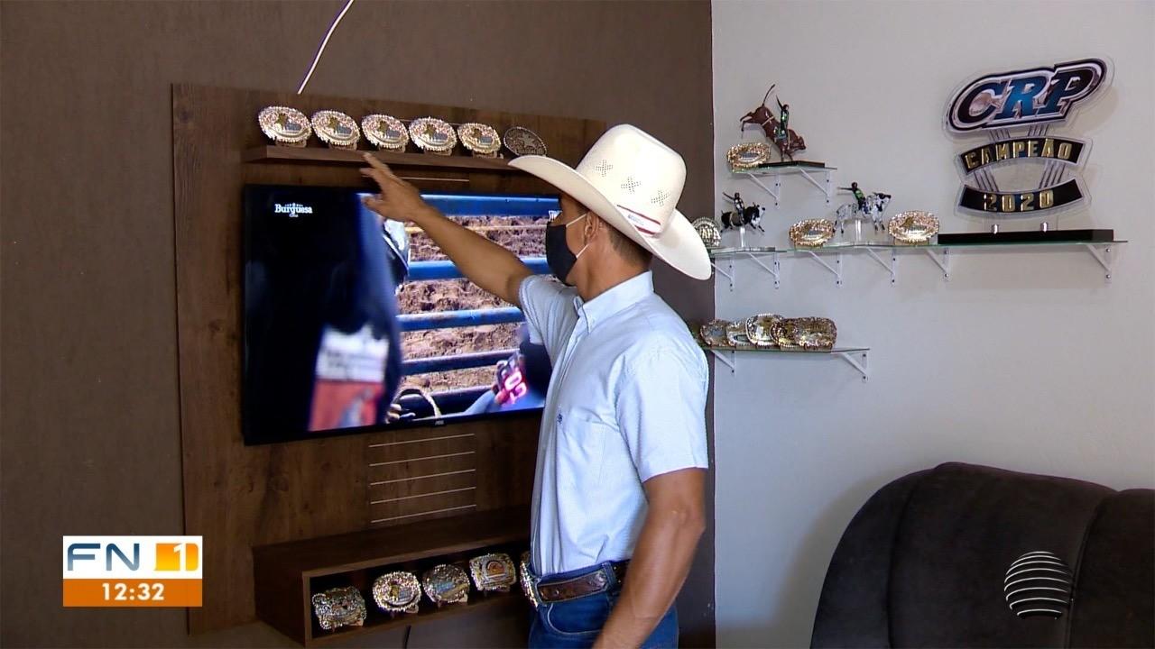 Morador de Mirante do Paranapanema coleciona prêmios e montarias internacionais