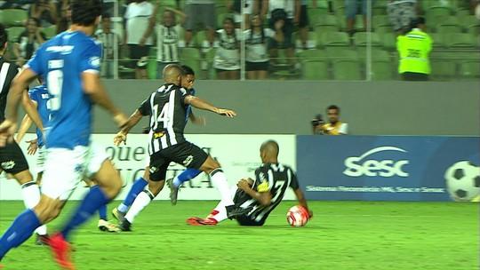 Pedro Rocha comenta pênalti sofrido em decisão e comemora título pelo Cruzeiro