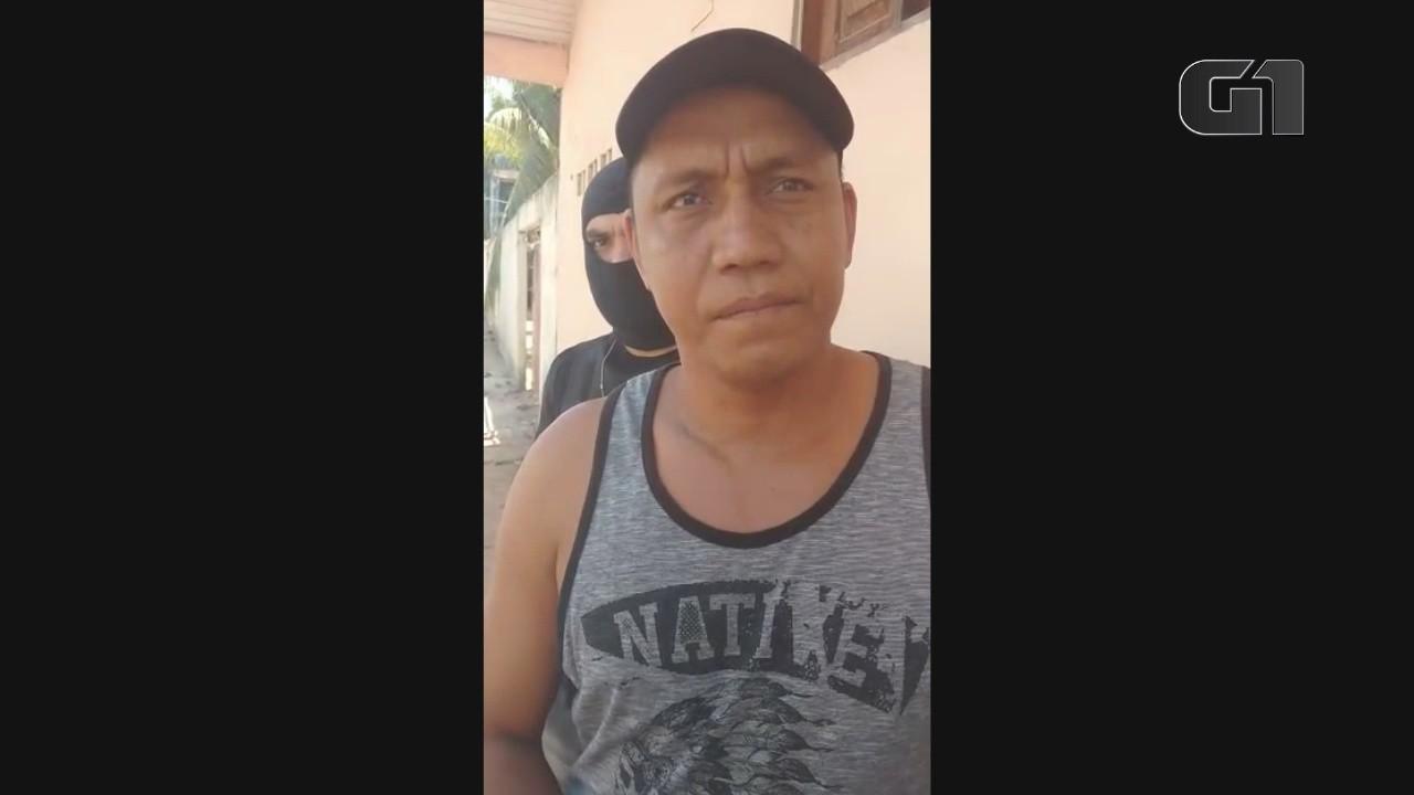 Traficante preso com maconha vendia cada quilo por R$ 2 mil em Macapá; vídeo
