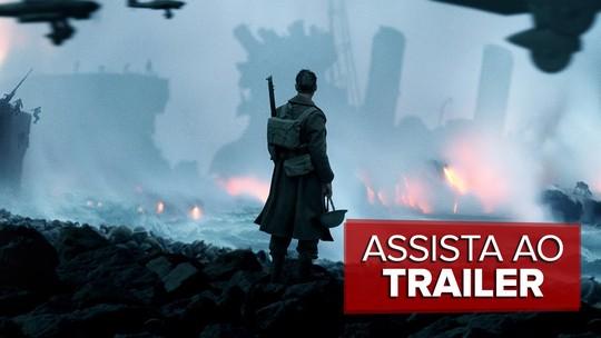 'Dunkirk' usa lado B da história para narrar drama real da 2ª Guerra Mundial; G1 já viu