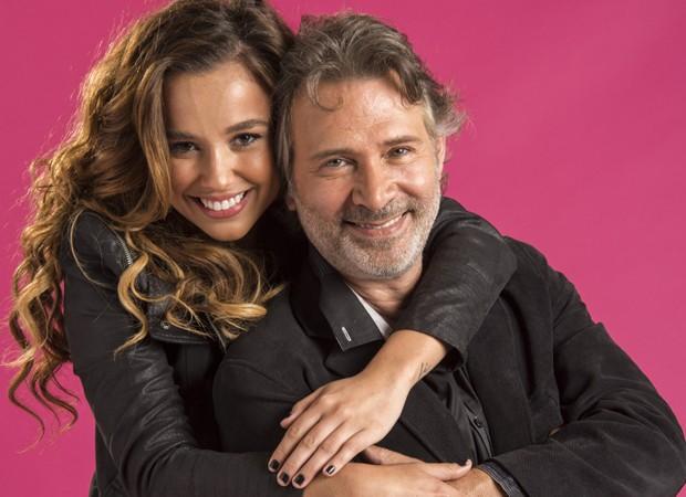 Juliane Araújo e Nelson Freitas (Foto: Estevam Avellar/TV Globo)