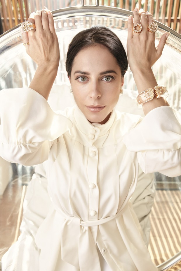 Stephanie Wenk (Foto: Daniel Mattar/Arquivo Vogue)