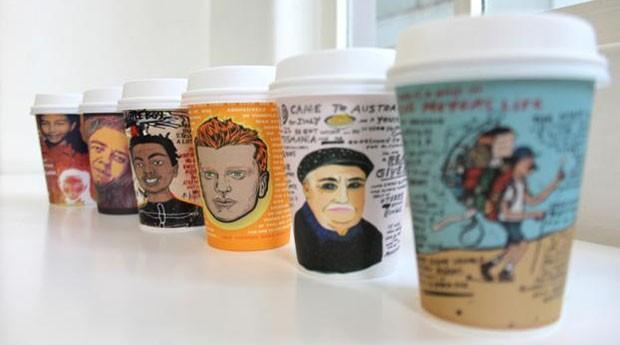 coffee cups (Foto: Divulgação )