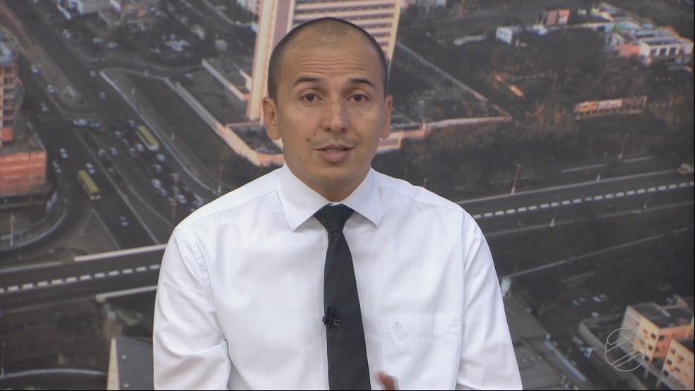 Procurador Mauro (Psol) foi entrevistado no Bom Dia MT — Foto: TVCA/Reprodução