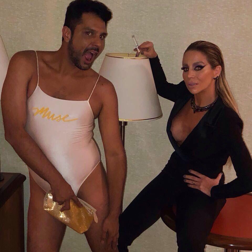 Daniella Winits com Renner Souza (Foto: Reprodução/Instagram)