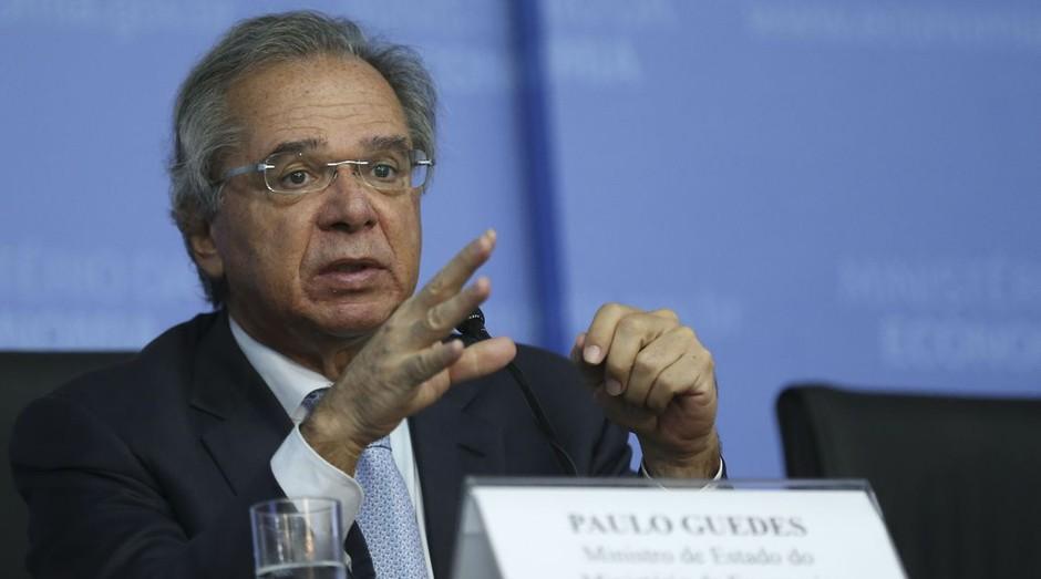 O ministro da Economia, Paulo Guedes (Foto: José Cruz/Agência Brasil )