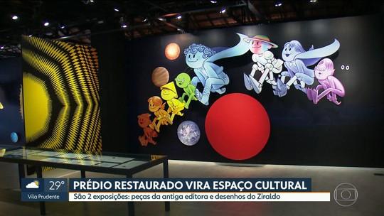 """Novo espaço cultural recebe exposição """"Os Planetas do Ziraldo"""""""