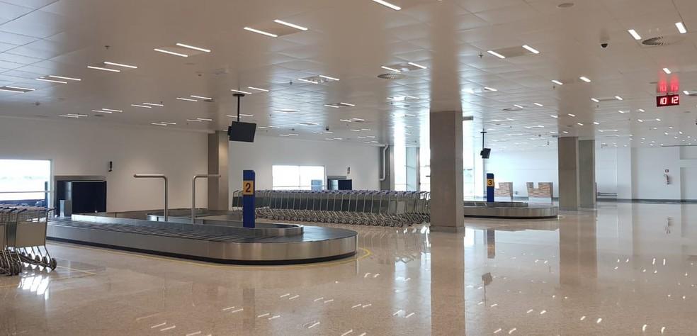 Espaço do novo aeroporto de Macapá fica ao lado do atual — Foto: Infraero/Divulgação