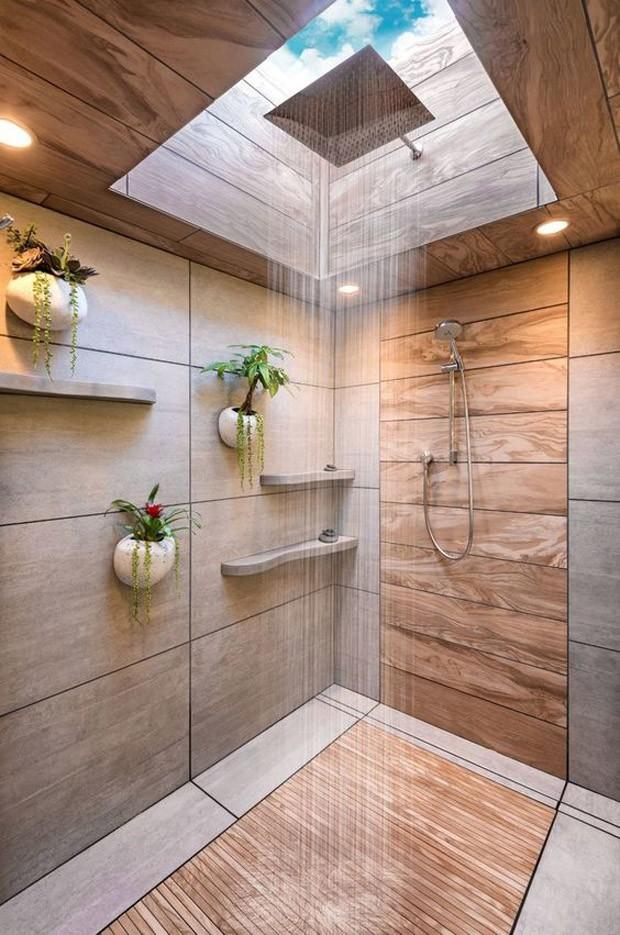Ilumina o natural abundante 18 ambientes com claraboias - Estantes para interior ducha ...