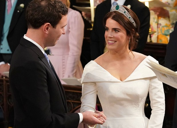 Princesa Eugenie e Jack Brooksbank se casam em Windsor (Foto: Getty Images)