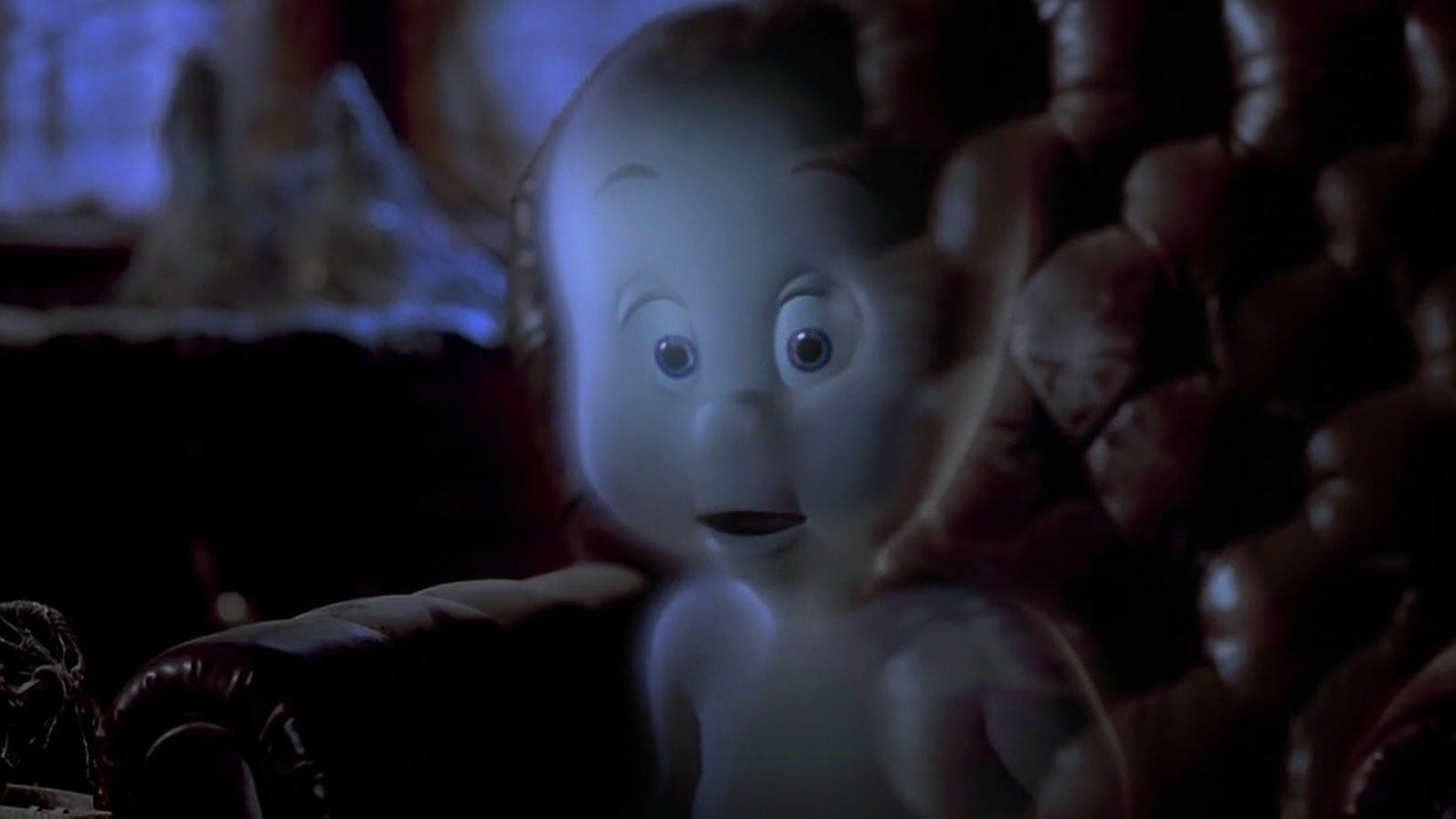 The most friendly ghost, Gasparzinho tries to haunt the Whip Staff mansion (Photo: Reproduction)