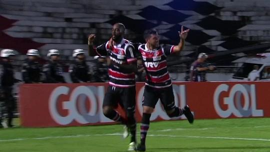 Os gols de Santa Cruz 4 x 1 Cruzeiro pela 3ª rodada do Brasileirão 2016