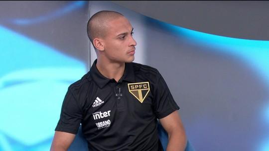 """Antony se mostra empolgado por chances no São Paulo de Jardine: """"Ele conhece a garotada da base"""""""