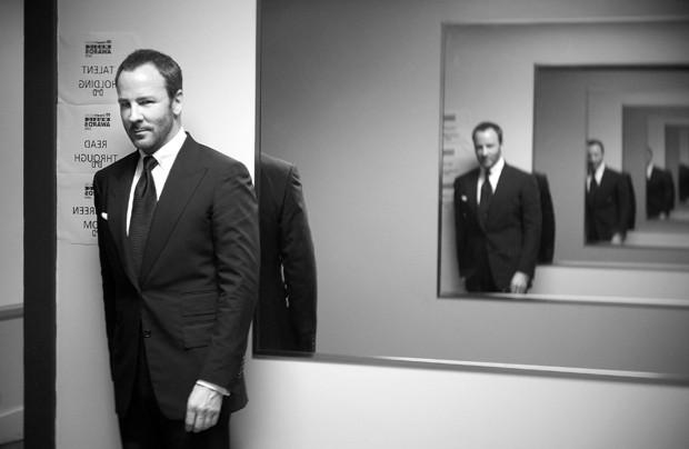 Tom Ford, o estilista à frente do CFDA (Foto: Getty Images / Jason Kempin )