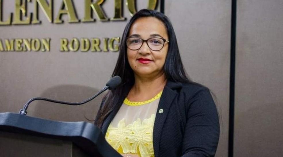 Vereadora Iranilda Lira, da cidade de Teixeira, no interior da Paraíba, morreu vítima de Covid-19 — Foto: Arquivo/Câmara Municipal de Teixeira