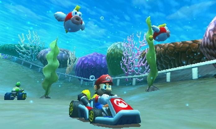 Mario Kart 7 trouxe boas novidades para a série (Foto: Divulgação/Nintendo)