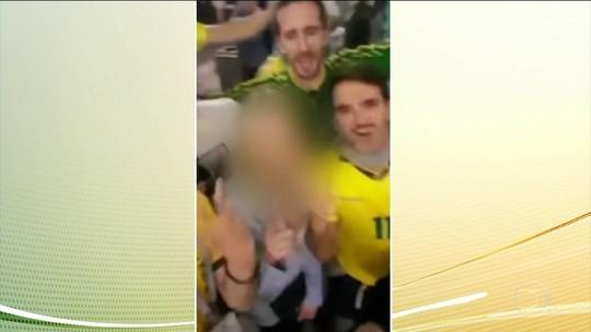 MP vai investigar brasileiros que constrangeram russa em vídeo