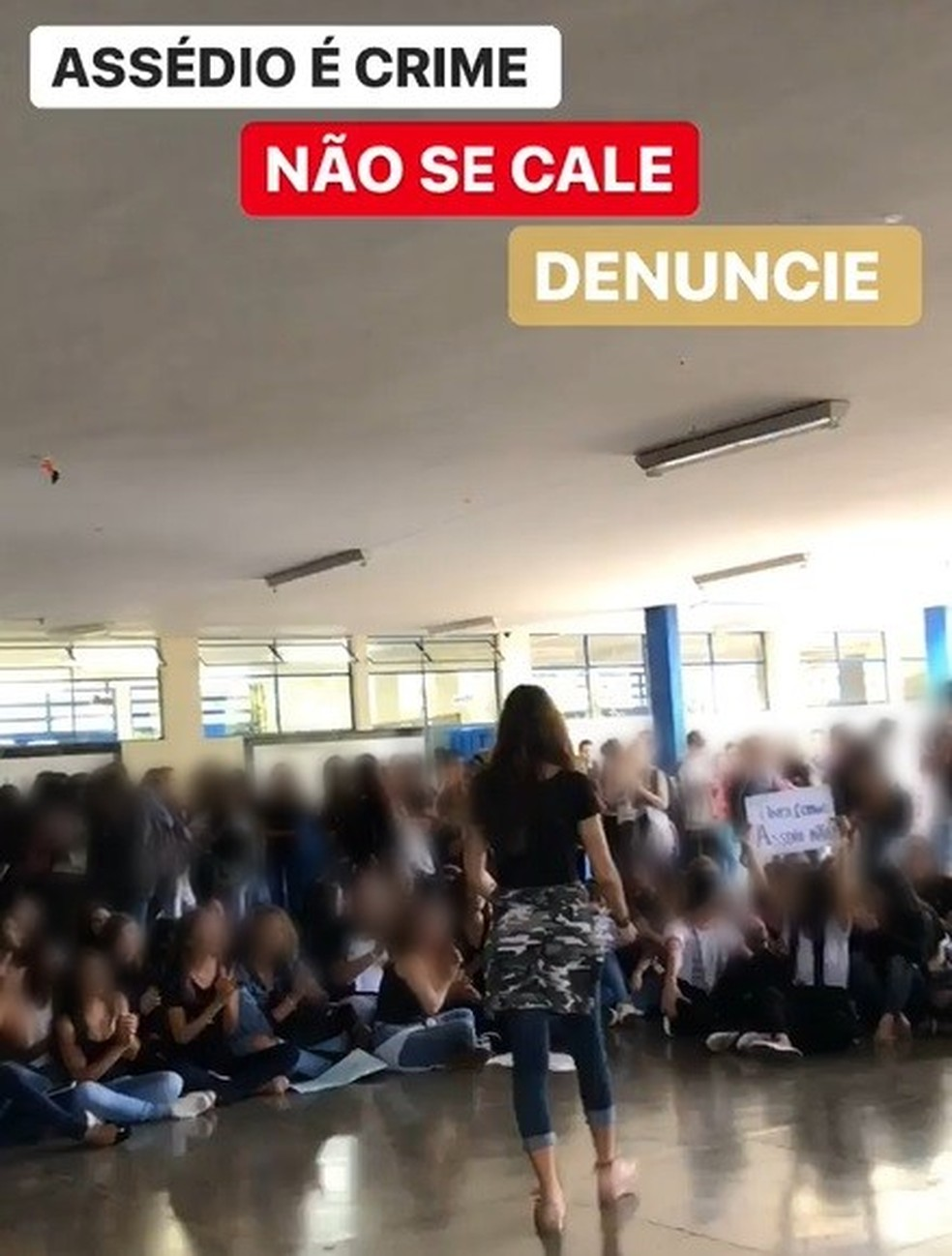 Assédio sexual em escolas