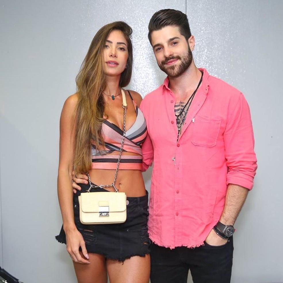 Romana Novais e Alok — Foto: Instagram