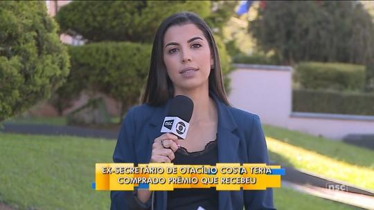 Prêmio de ex-secretário da Saúde de Otacílio Costa foi comprado com dinheiro público, afirma MPSC