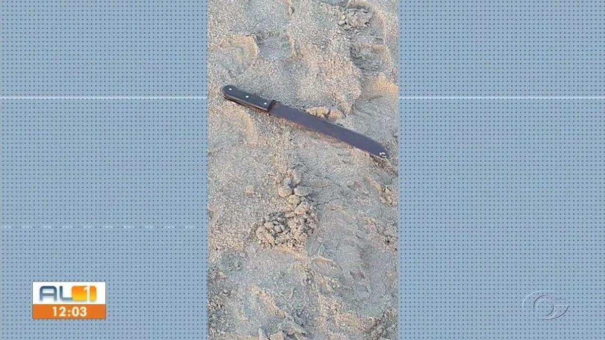 Morador de rua fica inconsciente após ser esfaqueado na areia da praia da Pajuçara, em Maceió