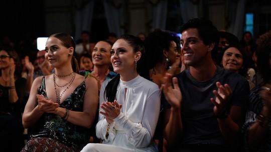 Letícia Colin festeja parceria com Isabelle Drummond em 'Novo Mundo'