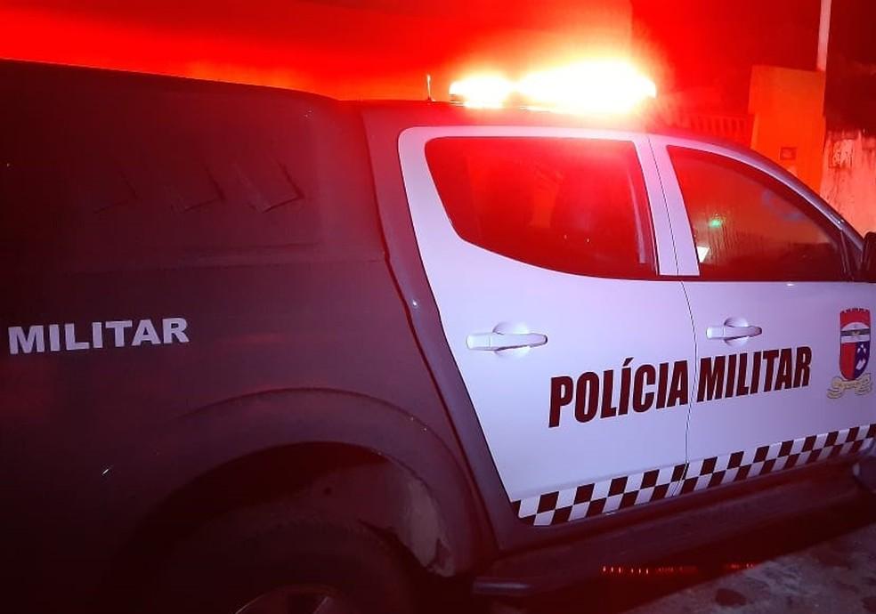 Crime aconteceu na noite deste sábado em Parnamirim — Foto: Sérgio Henrique Santos/Inter TV Cabugi