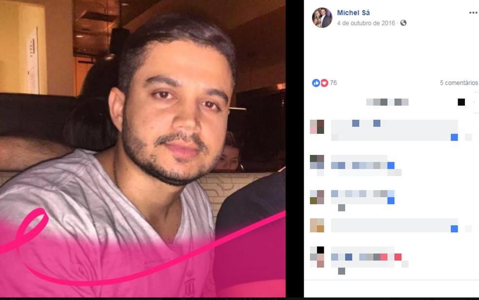 Michel Batista foi encontrado morto atrás de shopping em Salvador (Foto: Reprodução/Redes Sociais)
