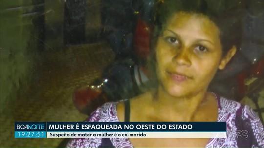 Ex-marido é suspeito de assassinar a facadas mulher em Matelândia